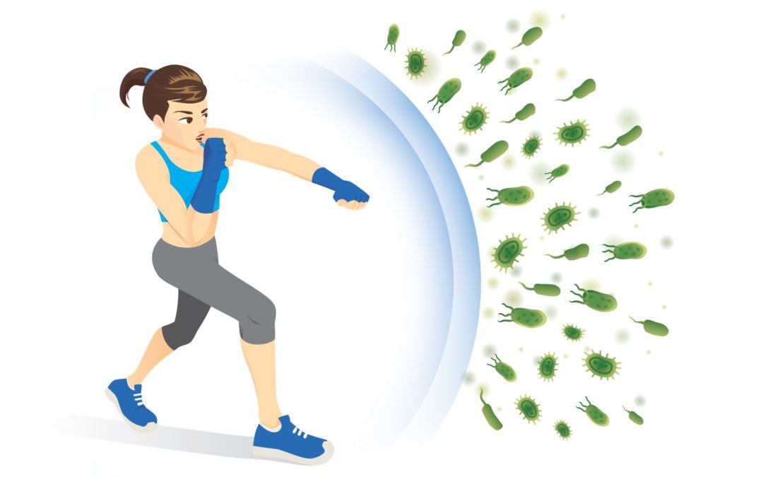 ONE WAY TO HAVE A HEALTHY OUTLOOK ON COVID-19 IS TO BOOST YOUR IMMUNE  SYSTEM WITH EXERCISE! – Ocean County Health Department